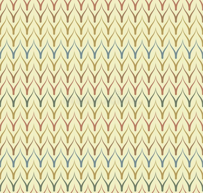 Seamless ethnic textile seamless vector pattern. Geometric thin zig zag native print. Folk mexican ornament. Ancient african style. Design. Simple line retro vector illustration