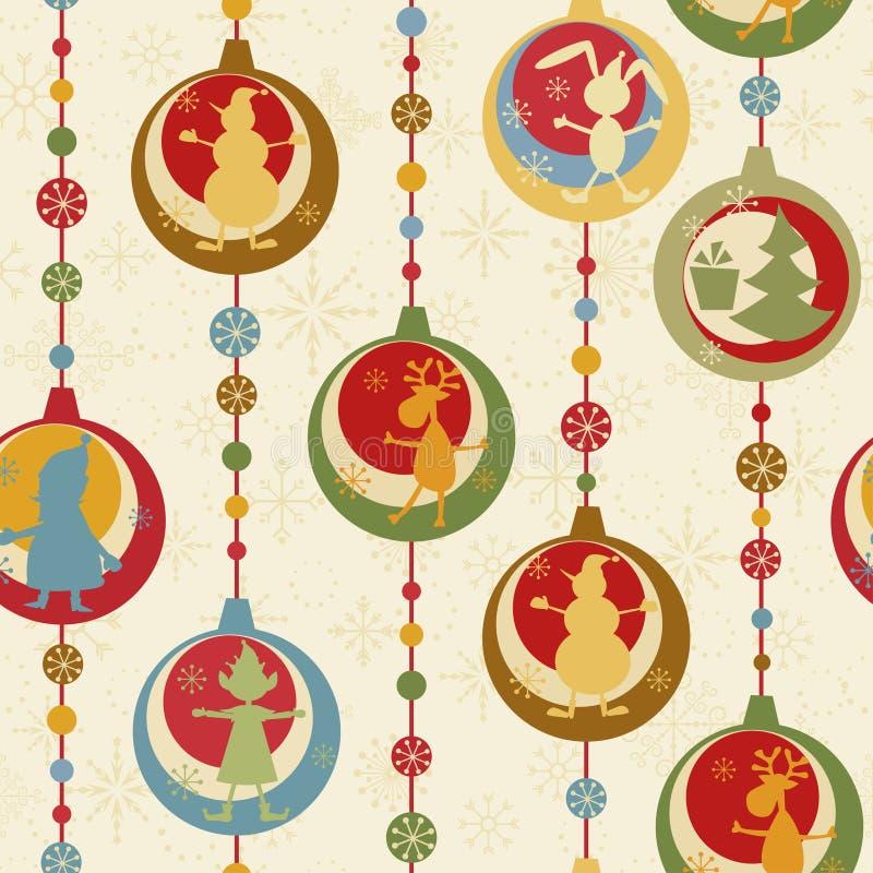 Download Seamless Färgrik Modell För Jul Vektor Illustrationer - Illustration av älva, illustration: 19787412
