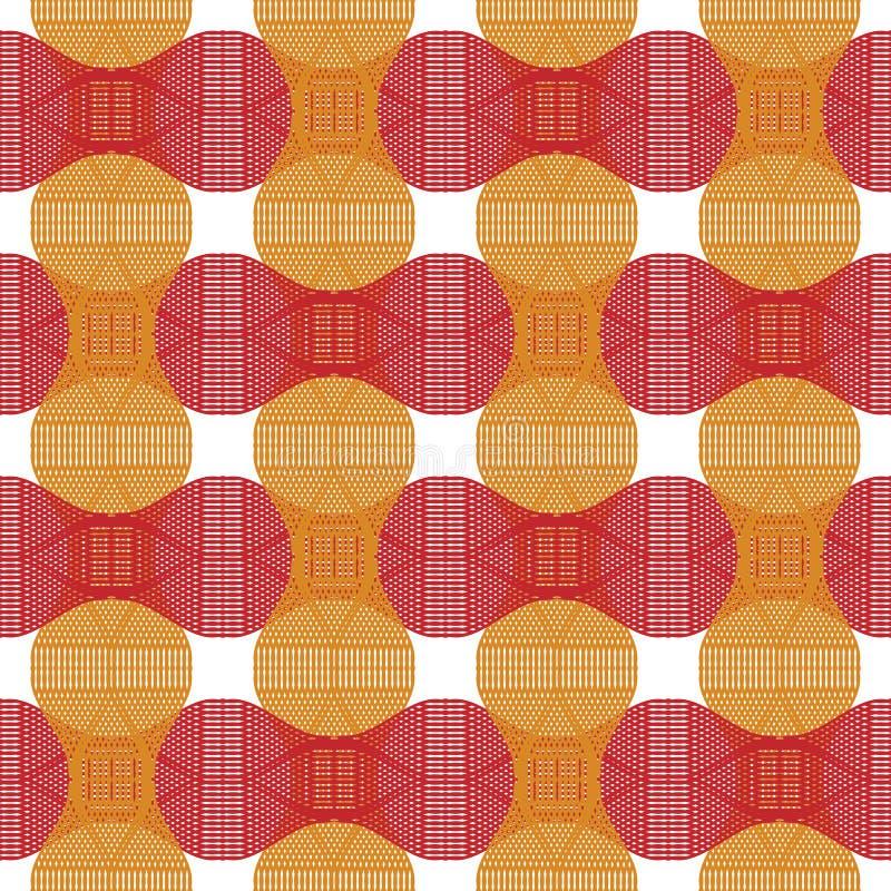 Seamless fabric stock illustration