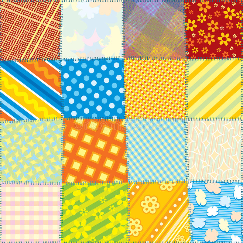 Download Seamless Fabric Texture stock vector. Image of bedding - 23166424