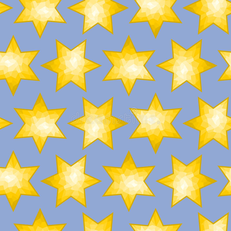 Download Seamless Faceted Star Background Tile Stock Vector - Illustration: 22520270