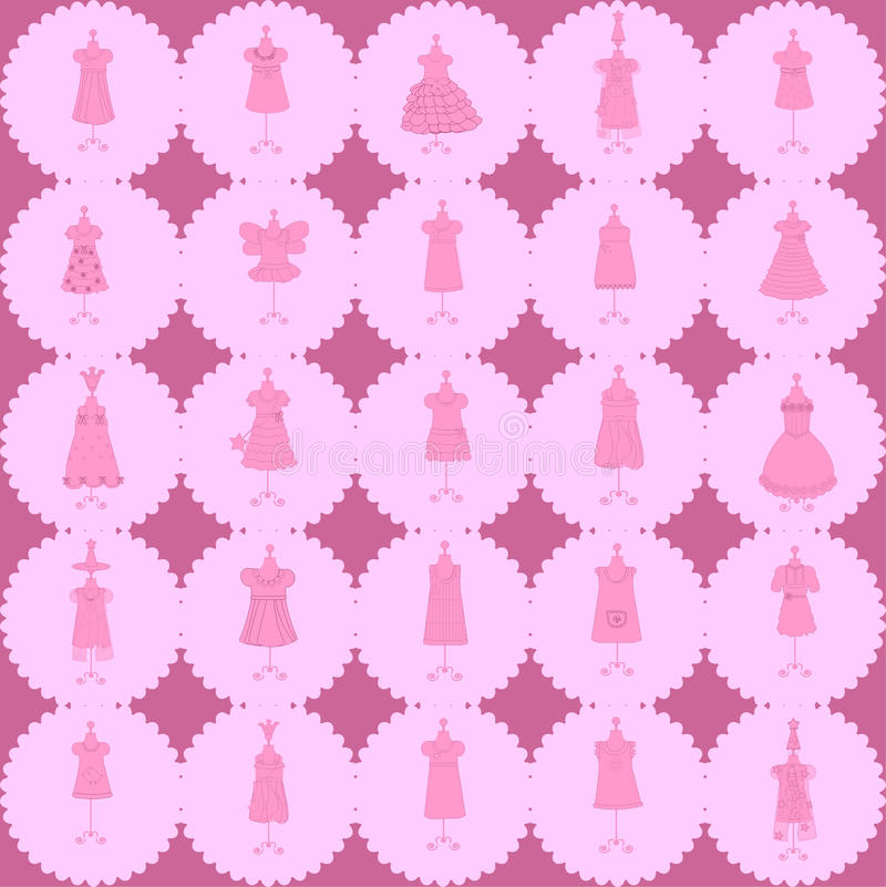 Download Seamless Fashion Pattern Vector Stock Vector - Image: 25591674