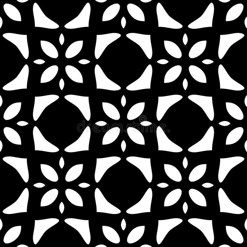 seamless fin upprepning f?r hennapaisley modell vektor illustrationer
