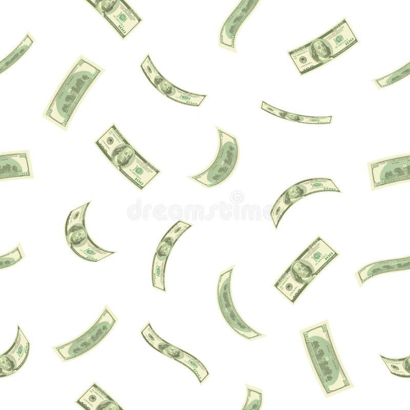 Seamless finance background stock photo