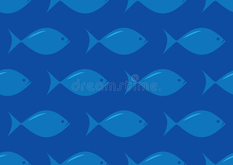 Download Seamless fish pattern stock photo. Image of life, background - 31906556