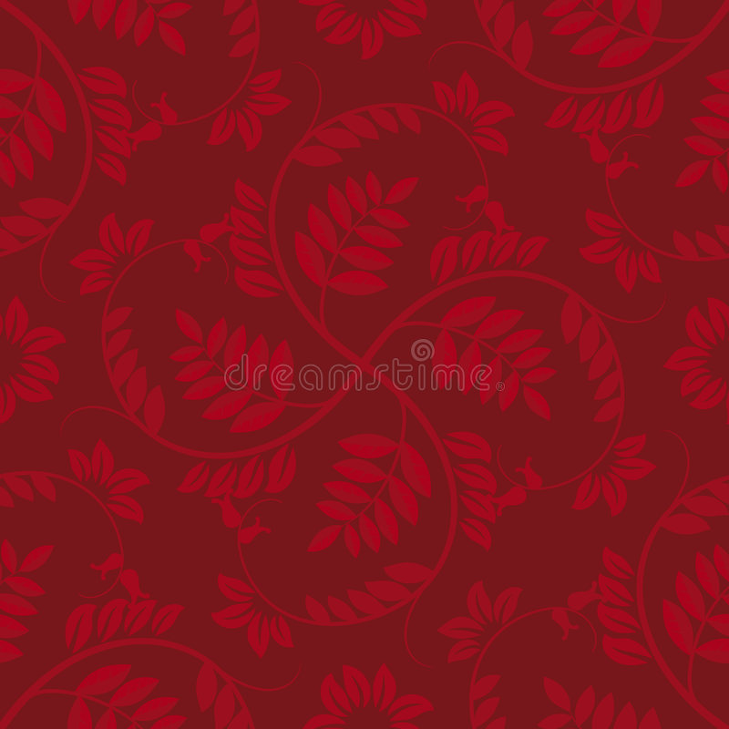 Download Seamless floral stock vector. Image of illustration, wallpaper - 4280158