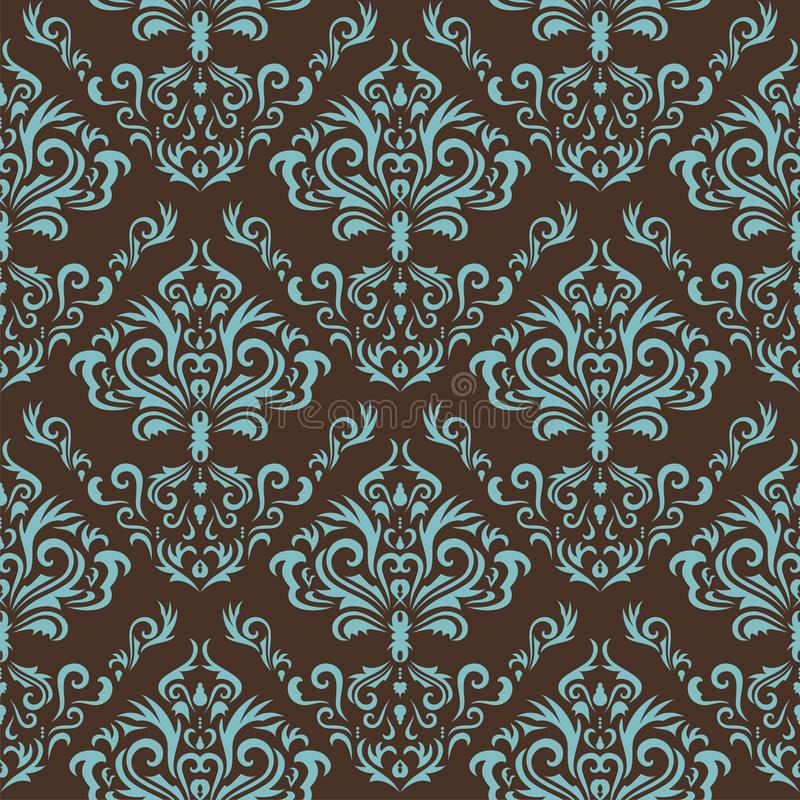 Seamless floral background. Seamless floral pattern. Nice to use as background stock illustration