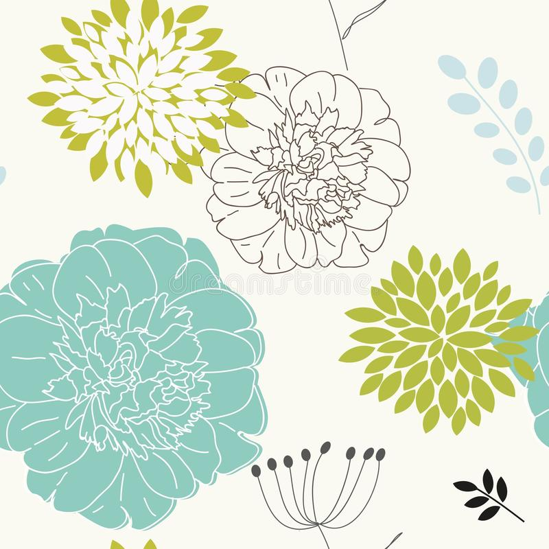 Download Seamless Floral Background Royalty Free Stock Images - Image: 23058719