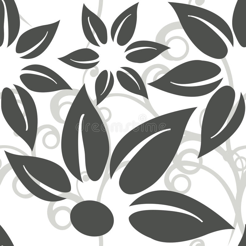Download Seamless floral background stock vector. Image of natural - 27402111