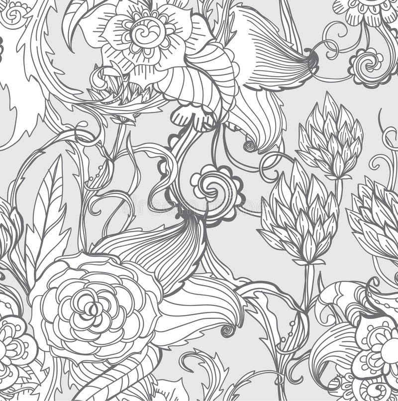 Download Seamless Floral Background Stock Image - Image: 27758161