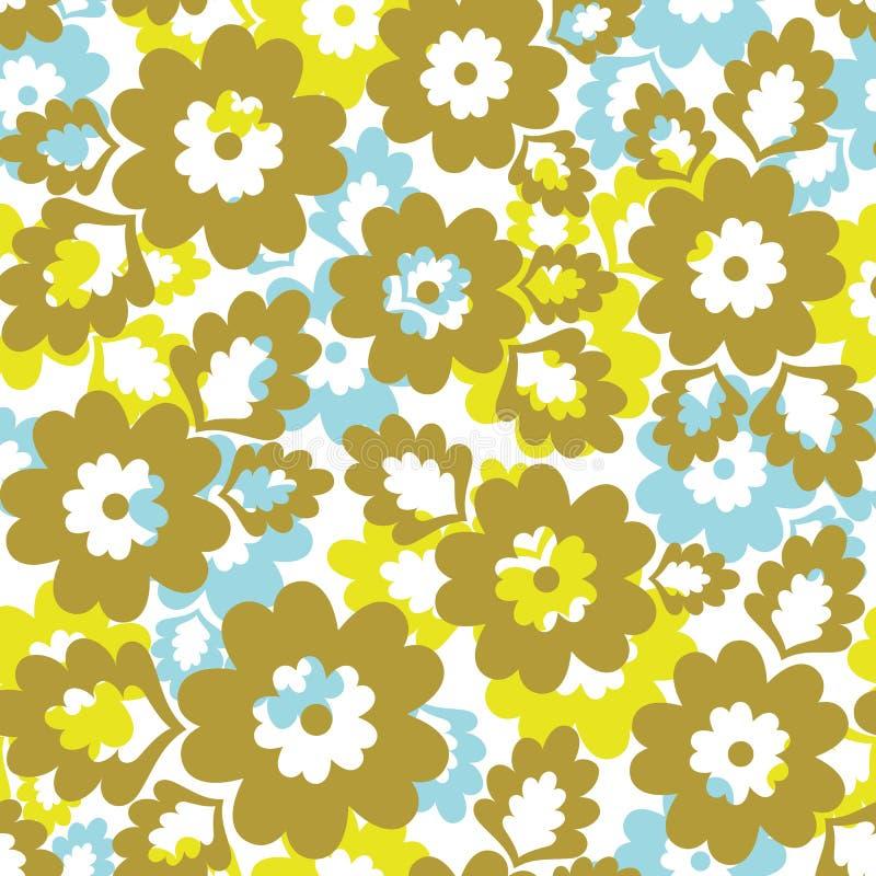 Seamless floral background. stock illustration