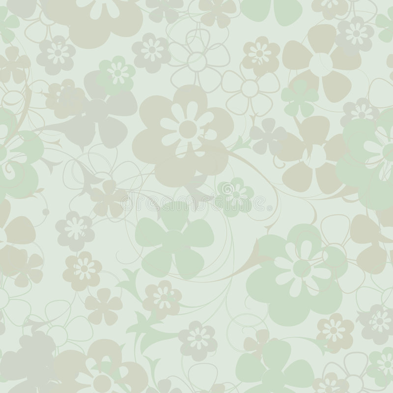 Seamless floral background. Seamless floral decoration for backgrounds royalty free illustration