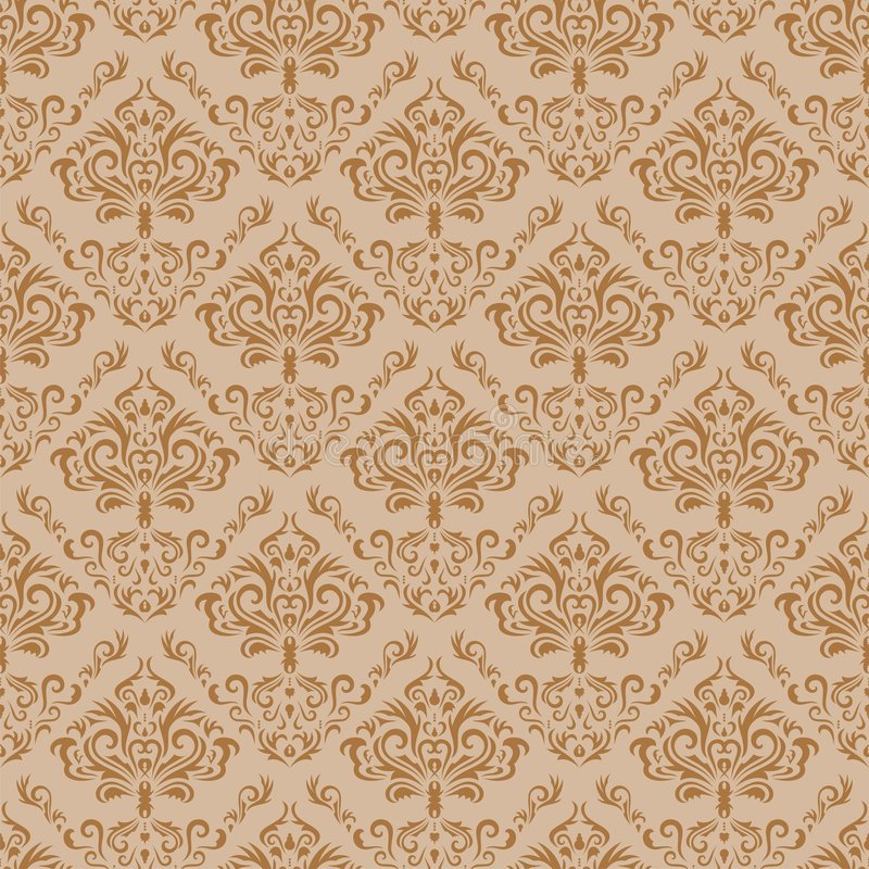 Seamless floral background. Seamless floral pattern. Nice to use as background royalty free illustration