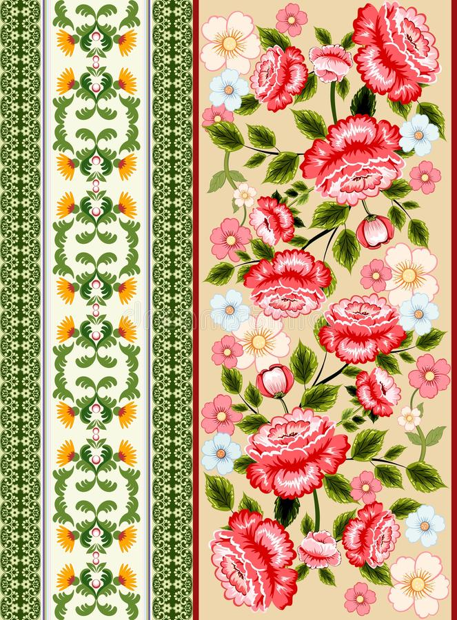 Download Seamless floral background stock vector. Image of flower - 83713053