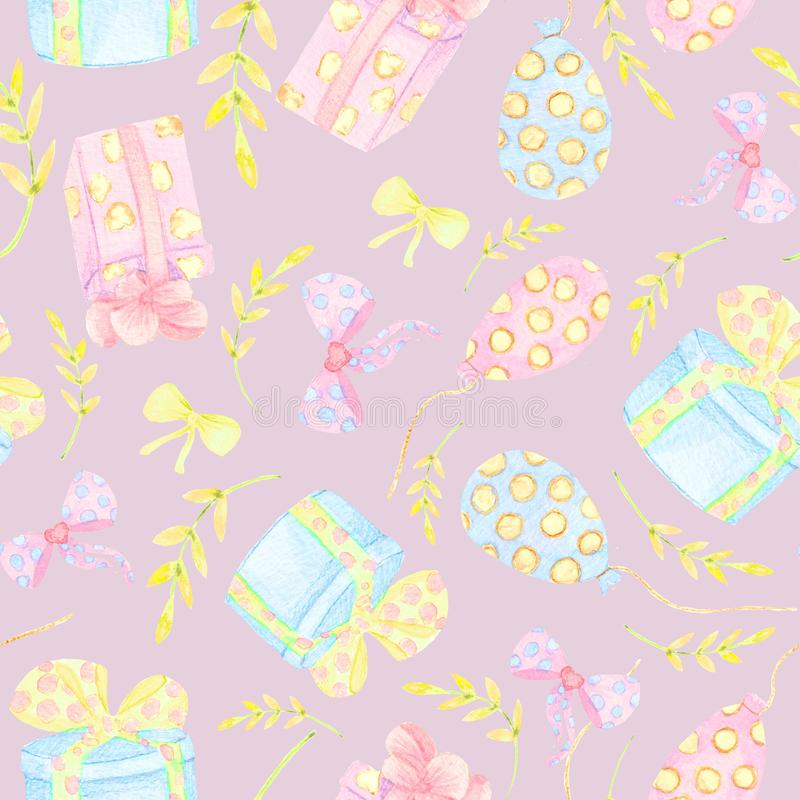 Seamless floral background. Tracery handmade nature ethnic fabric backdrop pattern with saturated dark flowers. Textile design stock illustration