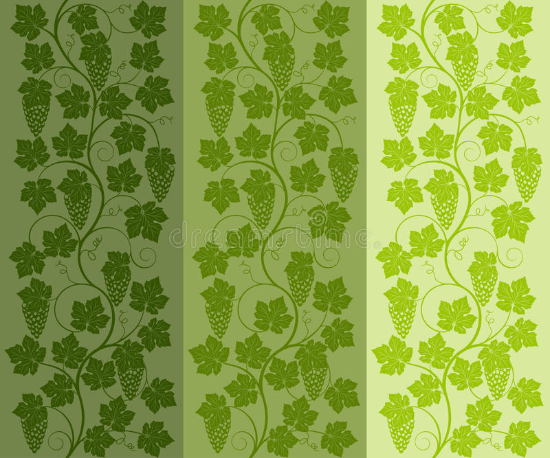 Download Seamless Floral Background With A Vine Stock Vector - Image: 23743712