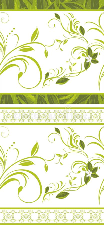 Download Seamless floral borders stock vector. Illustration of creative - 31873065