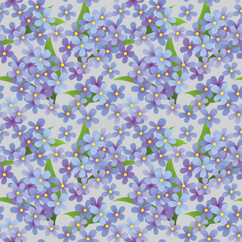 Download Seamless Floral Decorative Pattern Stock Vector - Image: 14208755