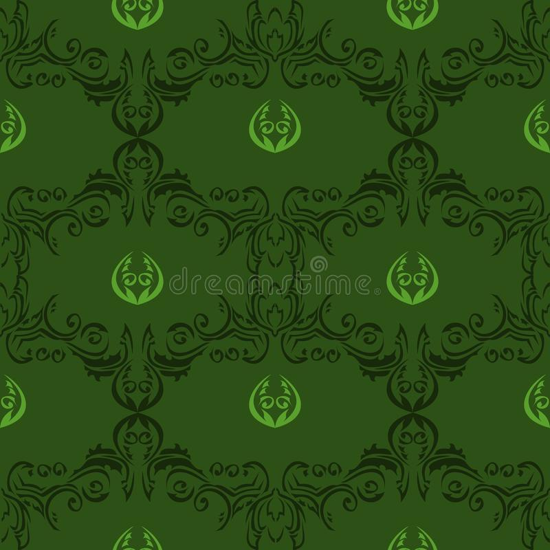 Download Seamless Floral Pattern 01 stock vector. Image of element - 22891287
