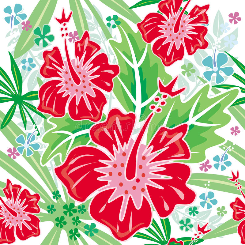 Download Seamless floral pattern stock vector. Illustration of modern - 10378361