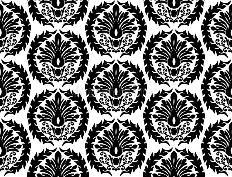 Download Seamless floral pattern. stock vector. Illustration of wallpaper - 11086761