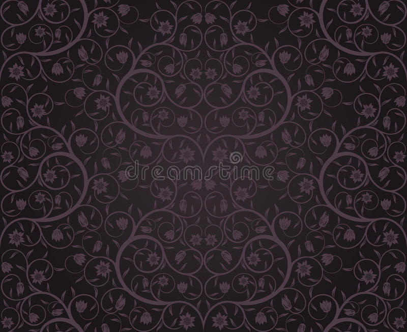 Download Seamless floral pattern stock vector. Image of decorative - 12215375