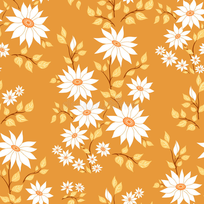 Download Seamless floral pattern. stock vector. Illustration of decor - 15882534