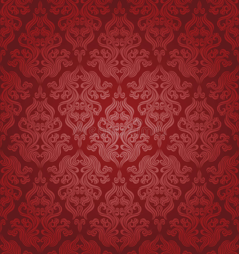 Download Seamless floral pattern stock vector. Image of season - 17529512