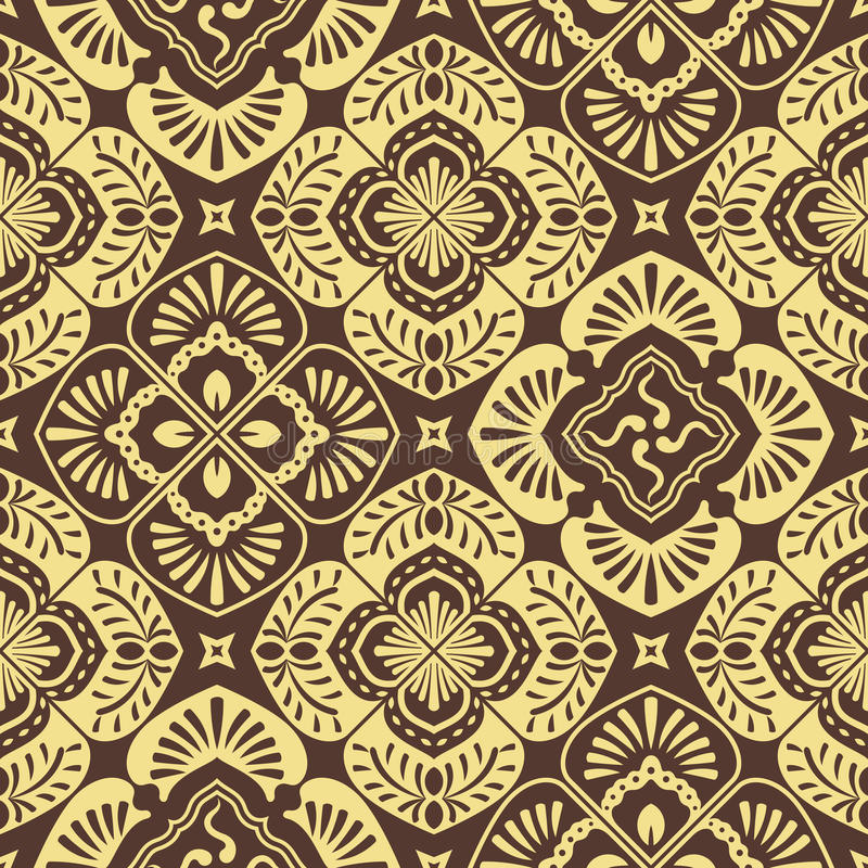 Free Seamless Floral Pattern Royalty Free Stock Photography - 18077067
