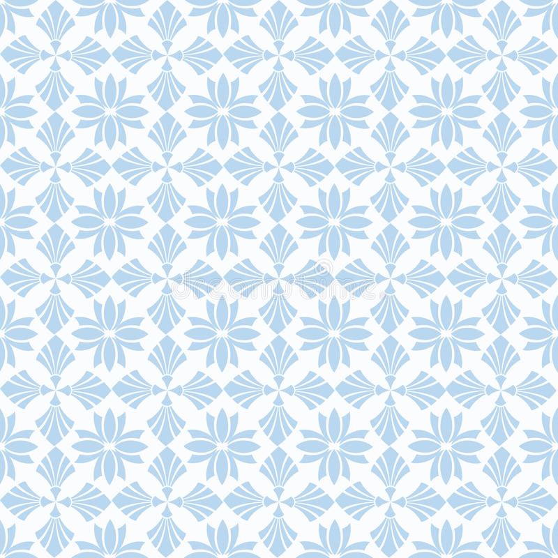 Seamless floral pattern royalty free illustration