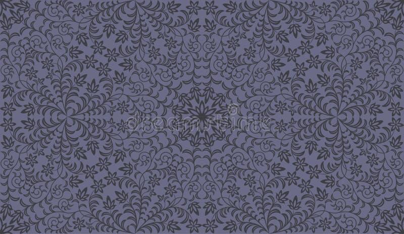 Download Seamless floral pattern stock vector. Illustration of damask - 20380895