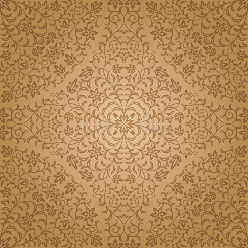 Download Seamless floral pattern stock vector. Image of design - 20682458