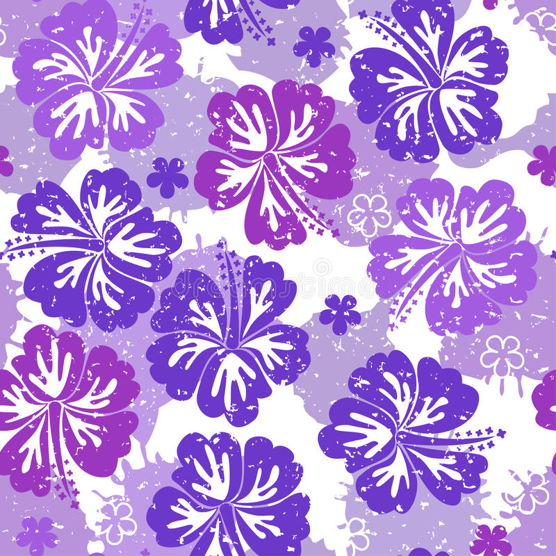 Download Seamless floral pattern stock vector. Illustration of silhouette - 20939890