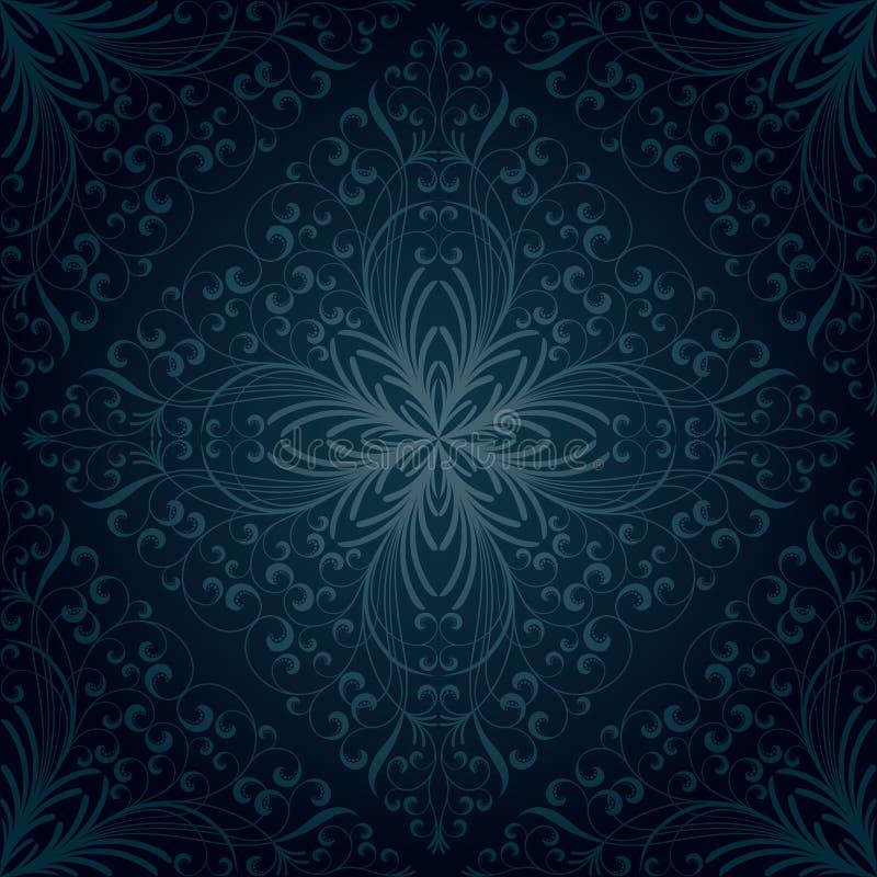Download Seamless floral pattern stock vector. Illustration of vintage - 21742950