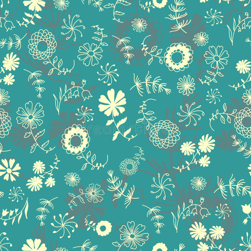 Download Seamless floral pattern stock vector. Image of gift, colored - 22096792