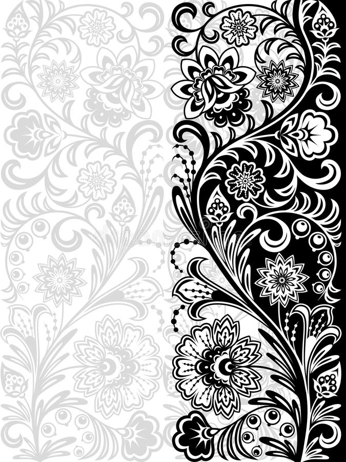 Download Seamless floral pattern stock vector. Illustration of floral - 23054082