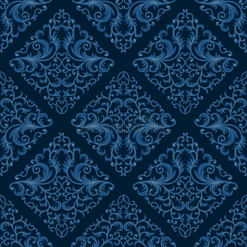 Download Seamless floral pattern stock vector. Image of vintage - 24404840