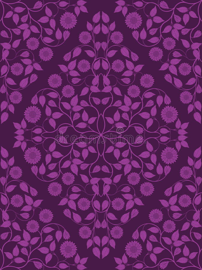 Free Seamless Floral Pattern Royalty Free Stock Image - 24988636