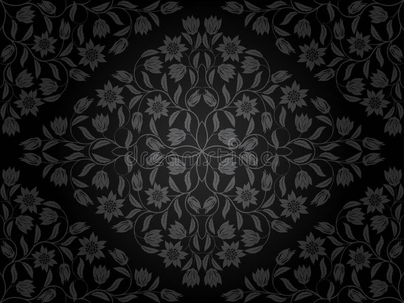 Download Seamless floral pattern stock vector. Image of texture - 25045910