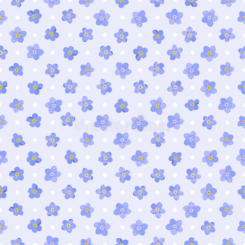 Download Seamless floral pattern. stock vector. Image of retro - 25218217