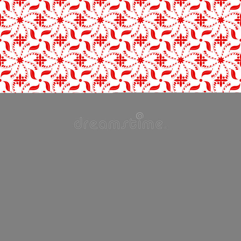 Download Seamless Floral Pattern stock illustration. Image of decoration - 25714351