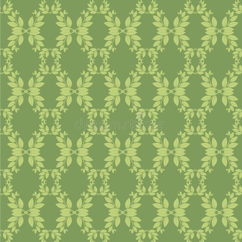 Download Seamless floral pattern stock vector. Image of arts, green - 29282071