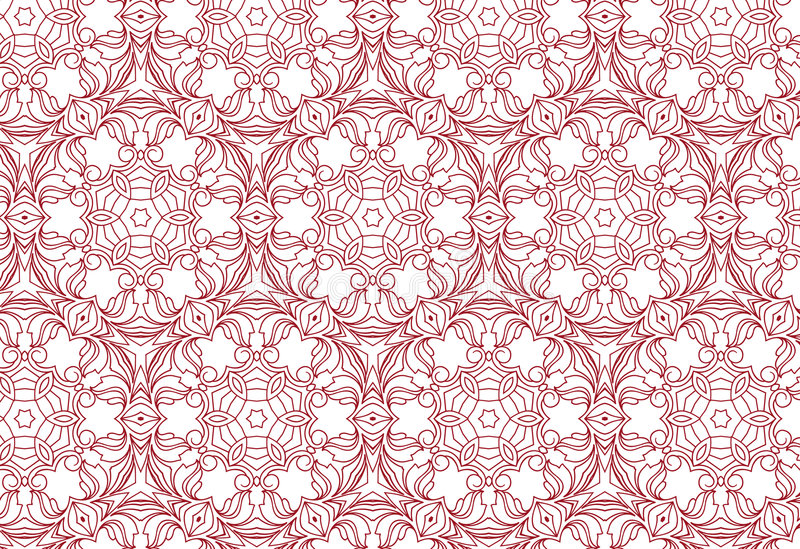 Download Seamless floral pattern stock vector. Image of flourish - 4955680