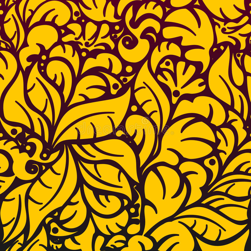 Free Seamless Floral Pattern 5.1(3) Royalty Free Stock Photo - 22211805