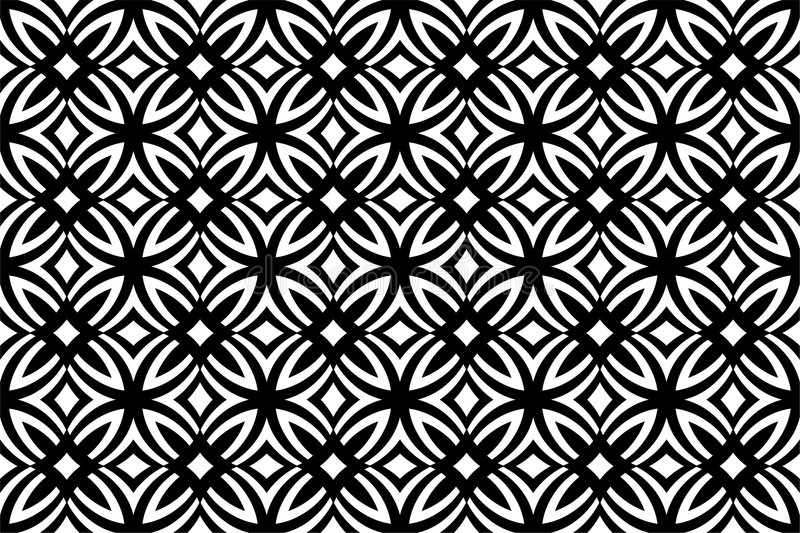 Download Seamless floral pattern stock vector. Image of leaf, ornamental - 5254199
