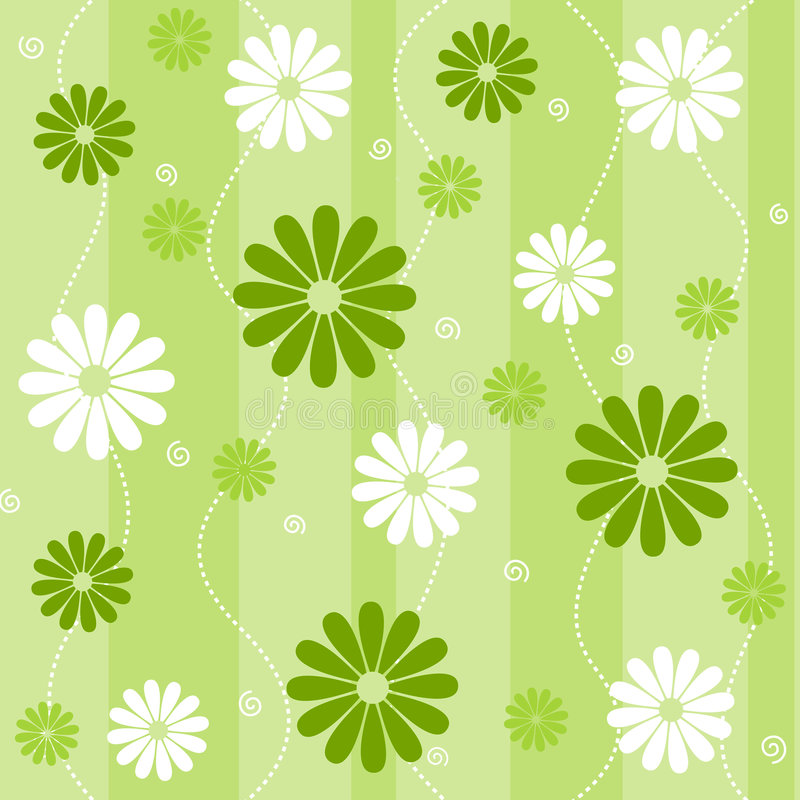 Free Seamless Floral Pattern Stock Photography - 6943532