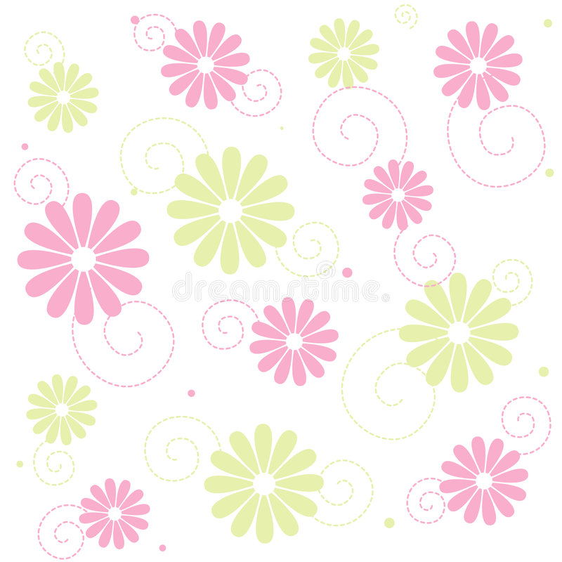 Free Seamless Floral Pattern Stock Photography - 6943562