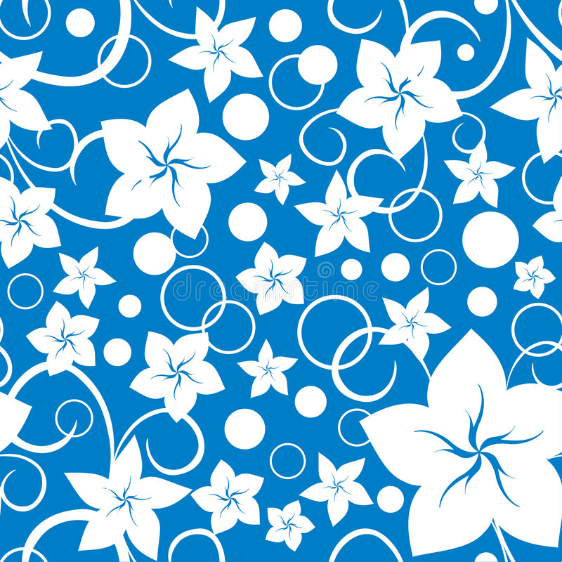Free Seamless Floral Pattern Stock Photo - 8111270
