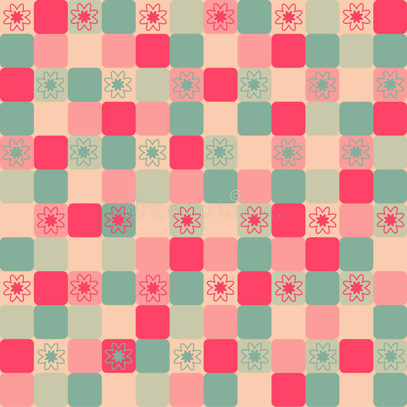Download Seamless floral pattern stock illustration. Image of cheerful - 9816018