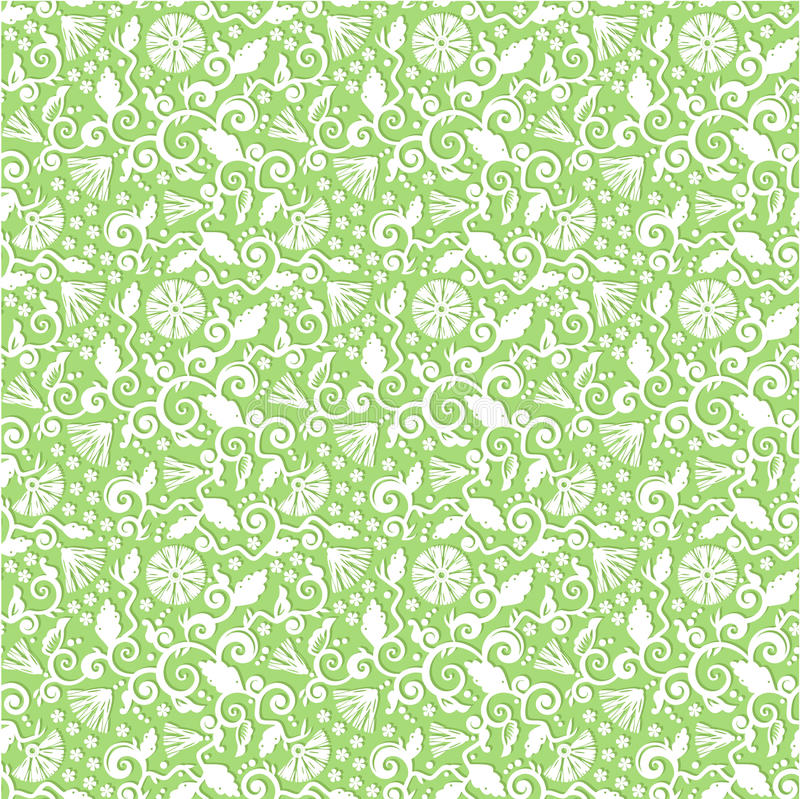 Download Seamless Floral Pattern Background Stock Vector - Image: 16294572